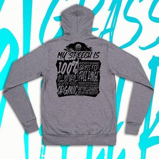 pure speech hoodie shirt