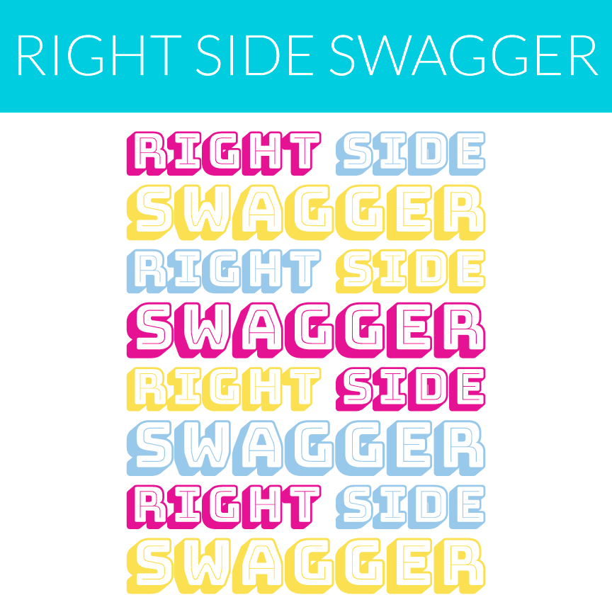 right side swagger repeating