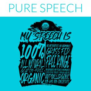 PURE SPEECH HOODIE