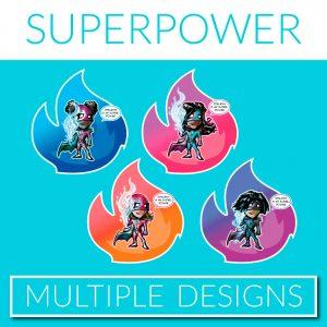 SUPER-POWER GIRLS